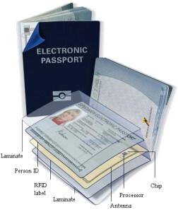 elektronischer Reisepass