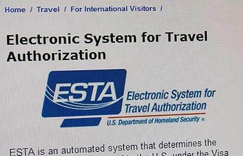 ESTA -Einreisebestimmungen der USA