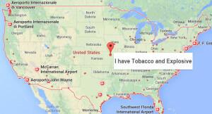 USA-Karte - ESTA