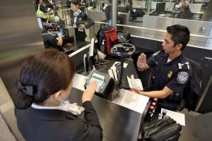 Einwanderungskontrolle - einreise usa