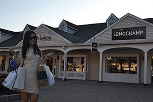 Woodbury Common Outlet Mall - Einreise USA