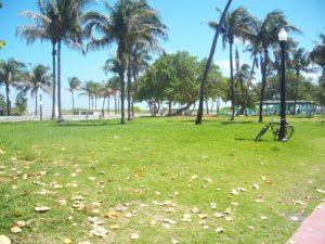 Lummus Park Miami Beach - Einreise USA