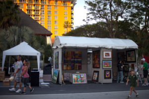 Coconut Grove Arts Festival - Einreise USA
