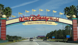 Disney World, Orlando - Einreise USA